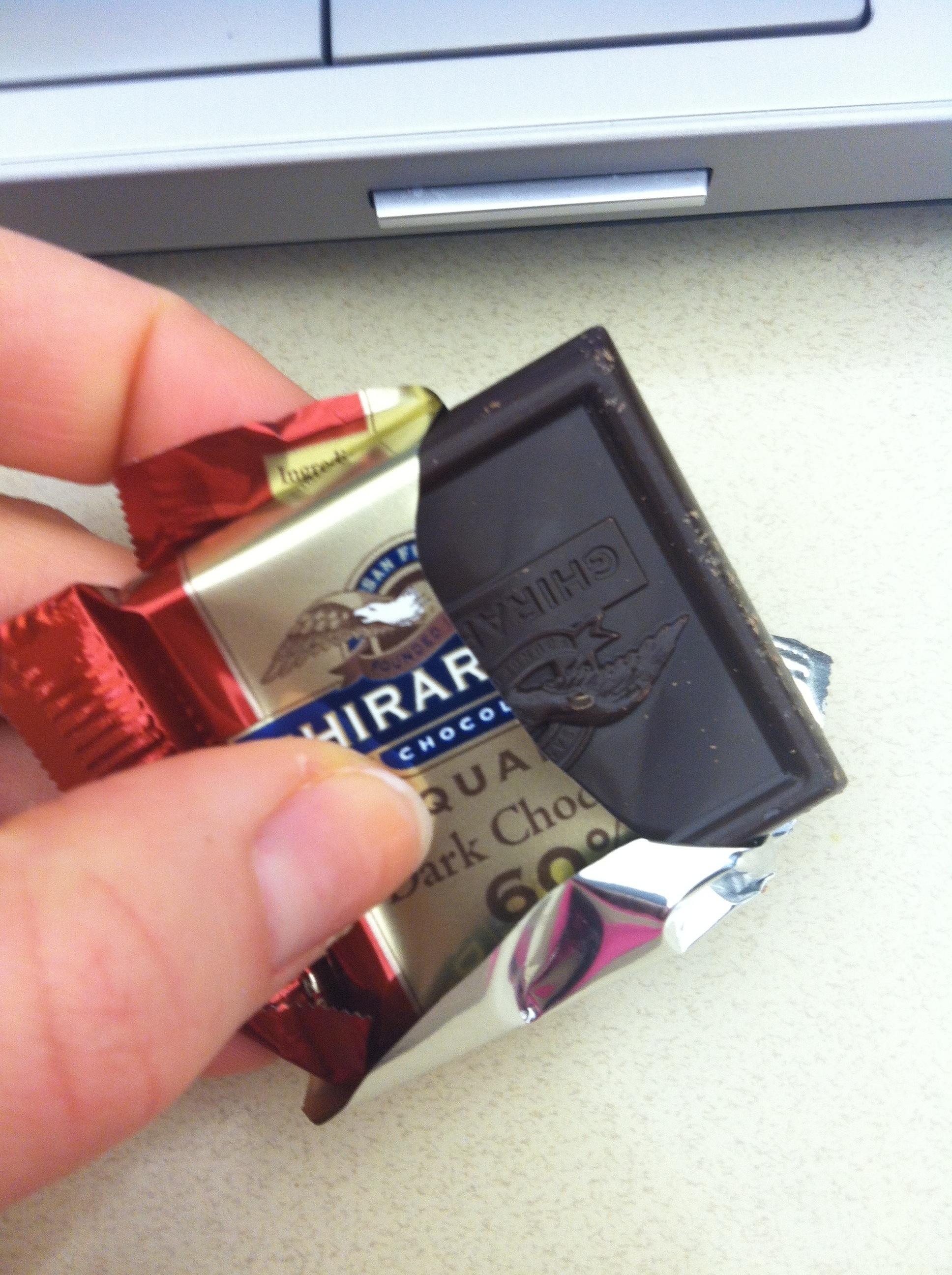 Ghirardelli Chocolate at work