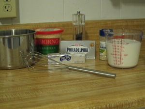 Alfredo sauce ingredients