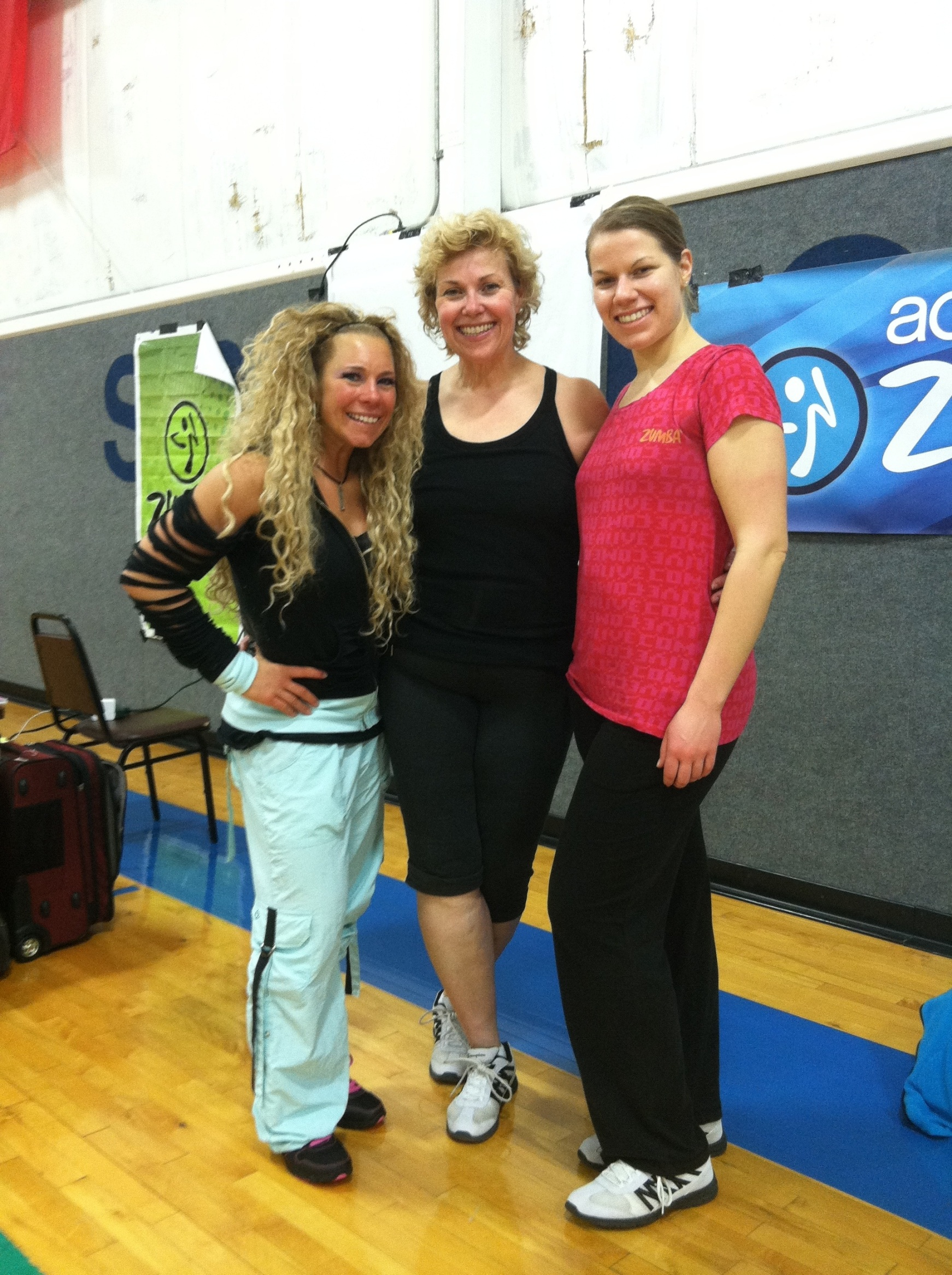Zumba Licensing with our trainer