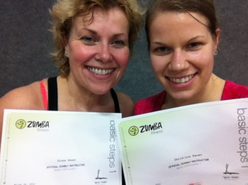 Officially licensed to instruct Zumba