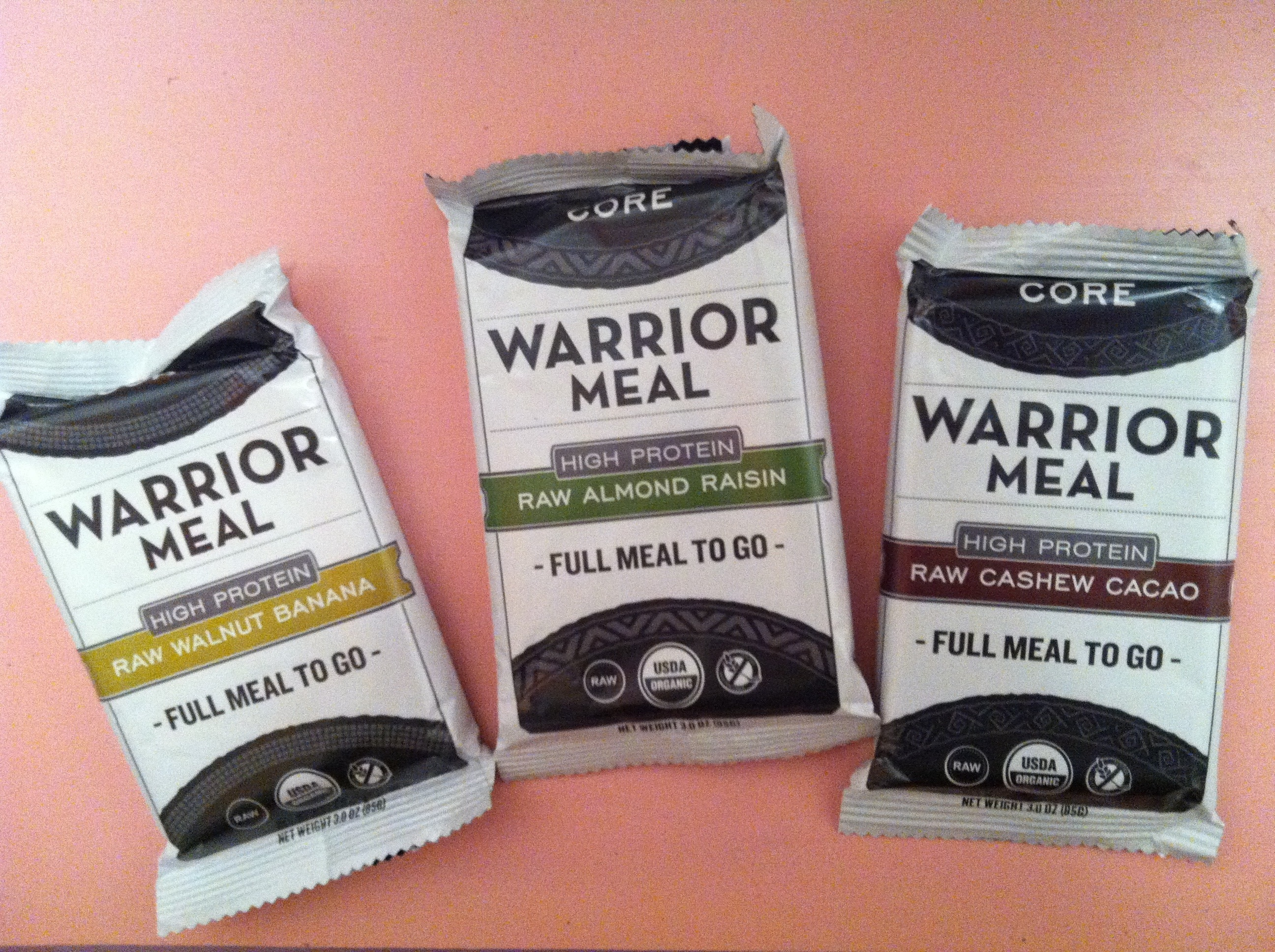 CORE Foods Warrior Sample Pack