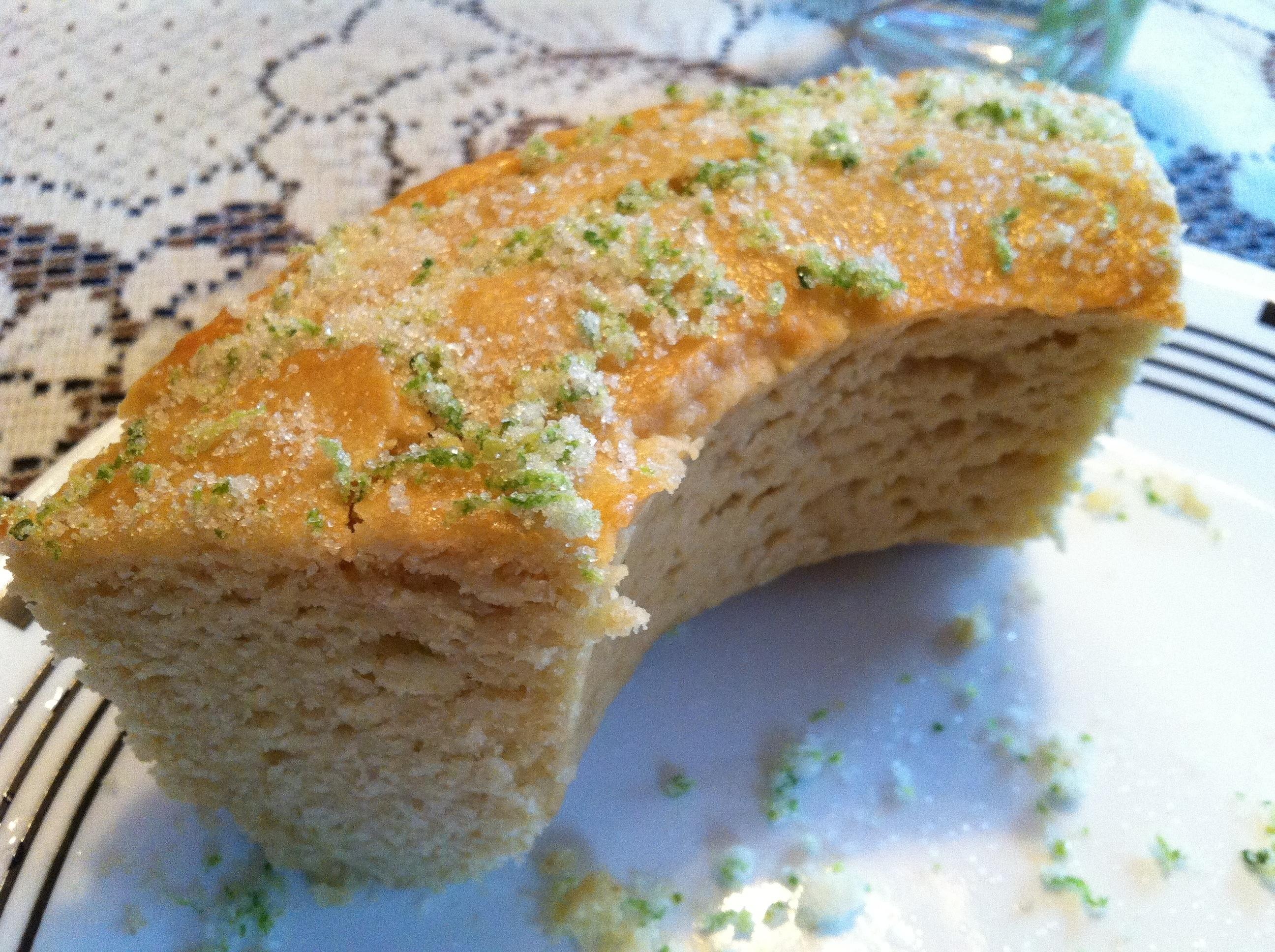 Lime Yogurt and Olive Oil Cake