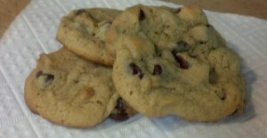 Soft & Chewy Peanut Butter Chocolate Chip Cookies