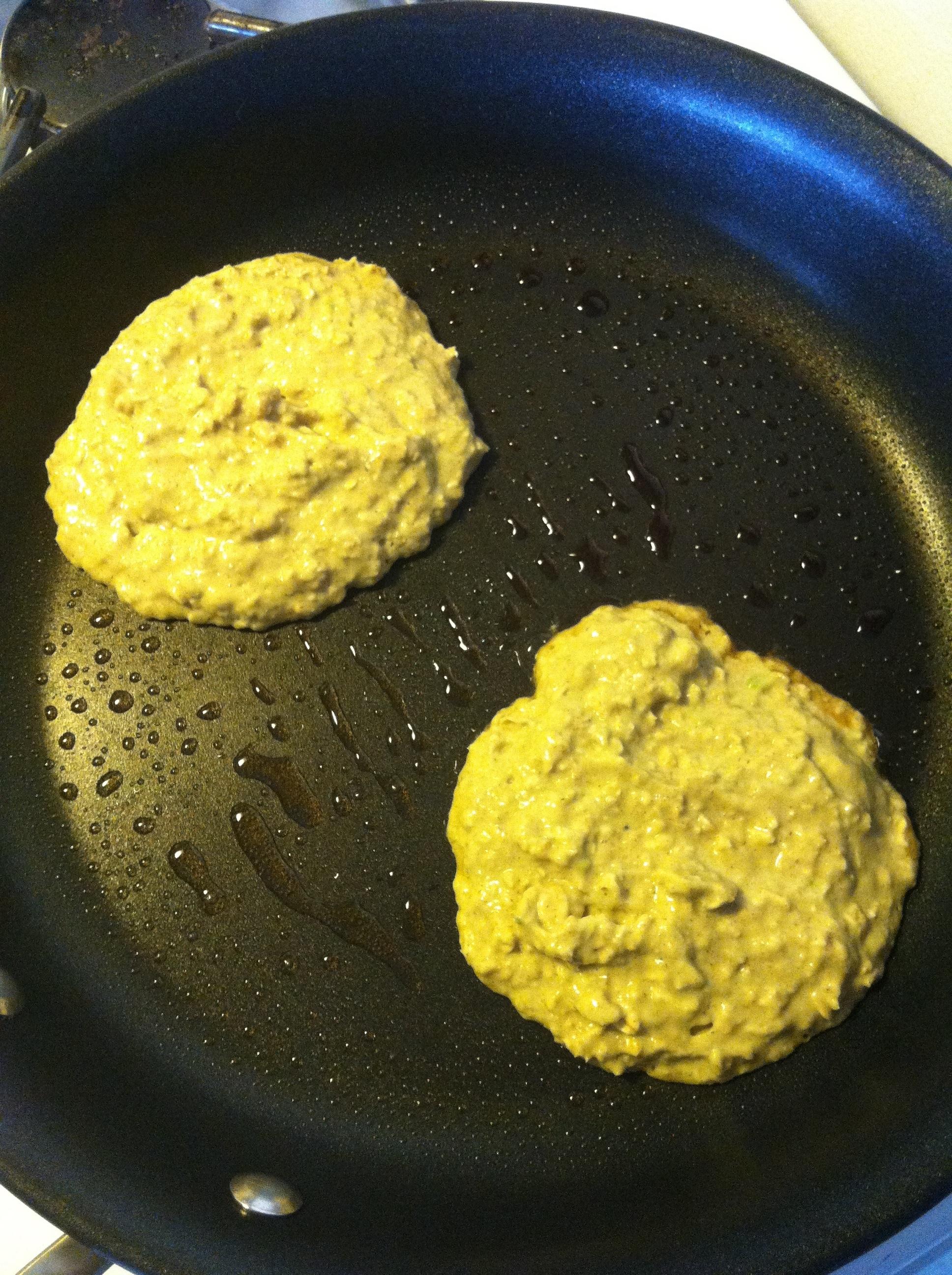 Avocado Oat Pancakes