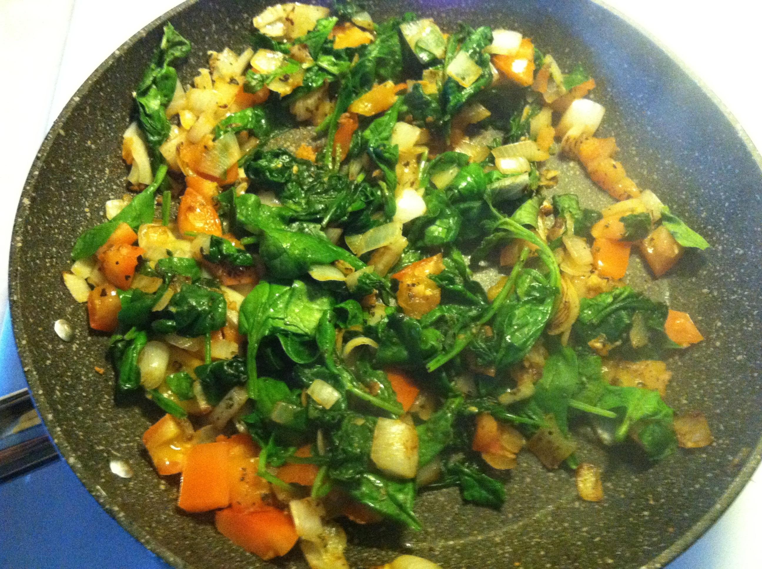 Greek-Inspired Veggie Frittata