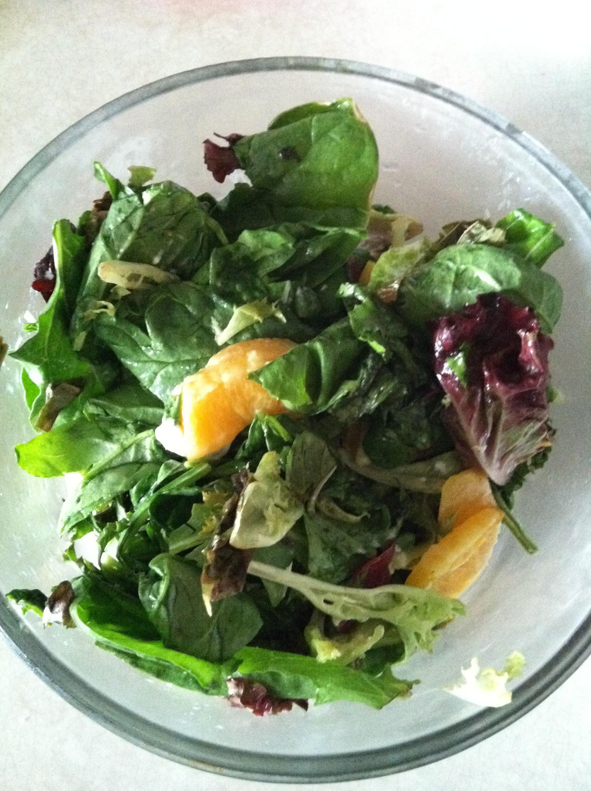 Arugala Orange Salad