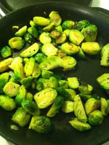 Tangy Brussels Sprouts