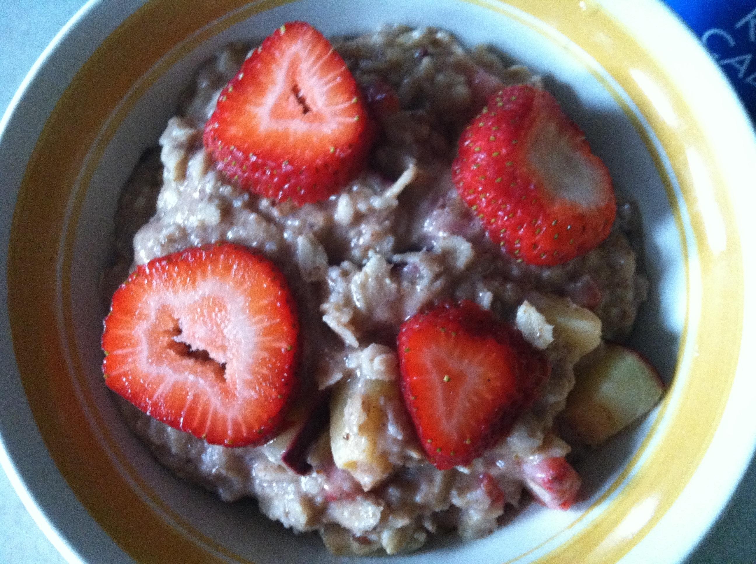 Plumberry Oatmeal