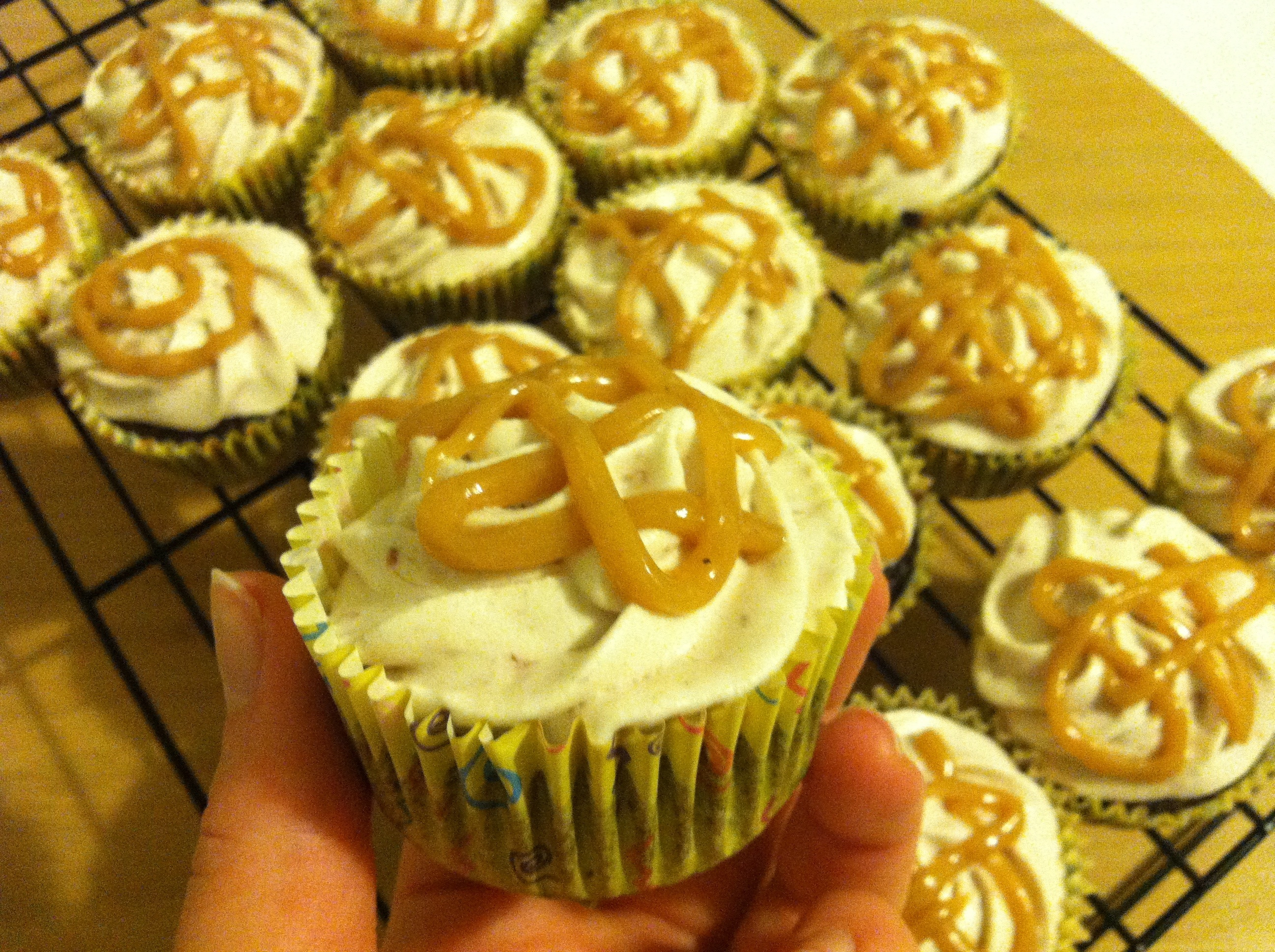 Chocolate Cupcakes with Strawberry Jam Buttercream and Peanut Butter ...