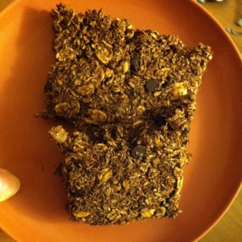Chocolate Granola Bars