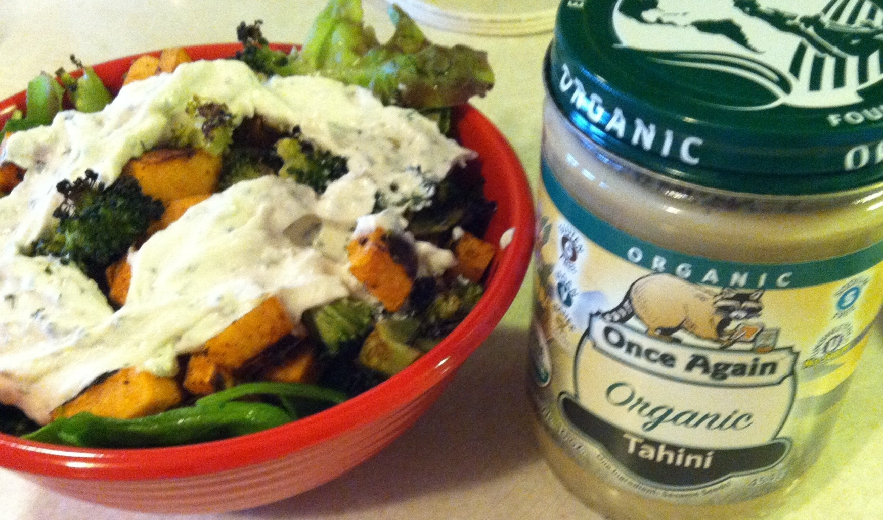 Greek Yogurt Tahini Dressing