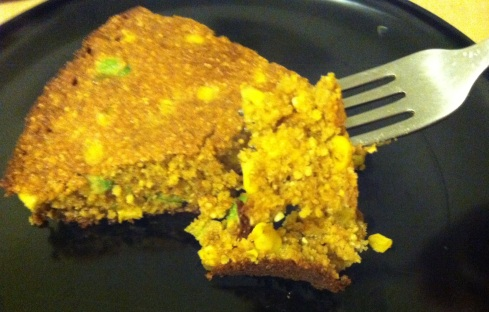 Whole Wheat Avocado Cornbread