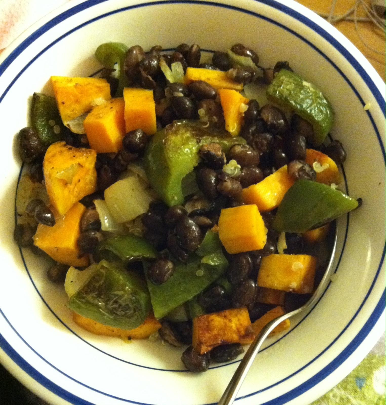 Buddha Bowl - Quinoa with Roasted Veggies | xtinaluvspink.wordpress ...