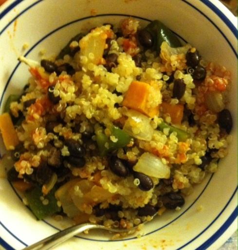 Buddha Bowl - Quinoa with Roasted Veggies