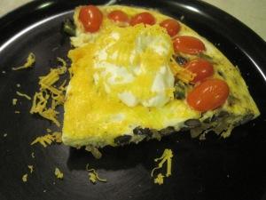 Southwestern Vegetarian Frittata