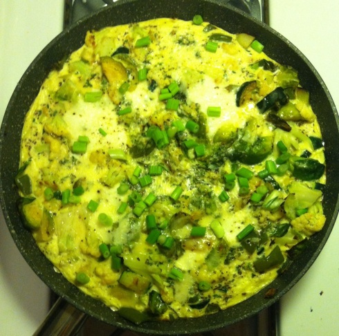 Green Monster Frittata
