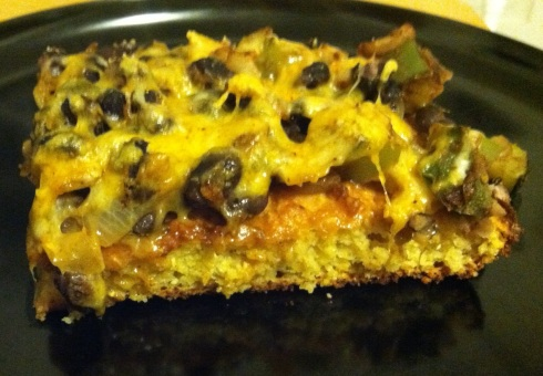Taco Cornbread Pie
