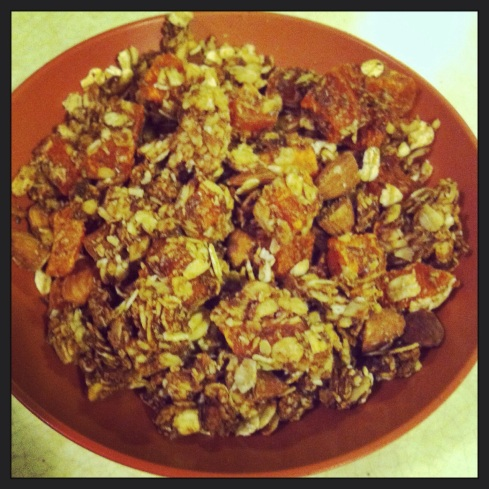 Fruity Nutty Citrus Granola