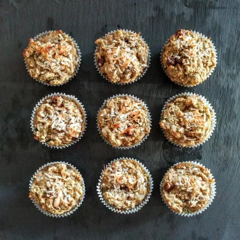 Vegan Energy Muffins: Packed with Zucchini, Bananas, and Walnuts | xtinaluvspink.wordpress.com
