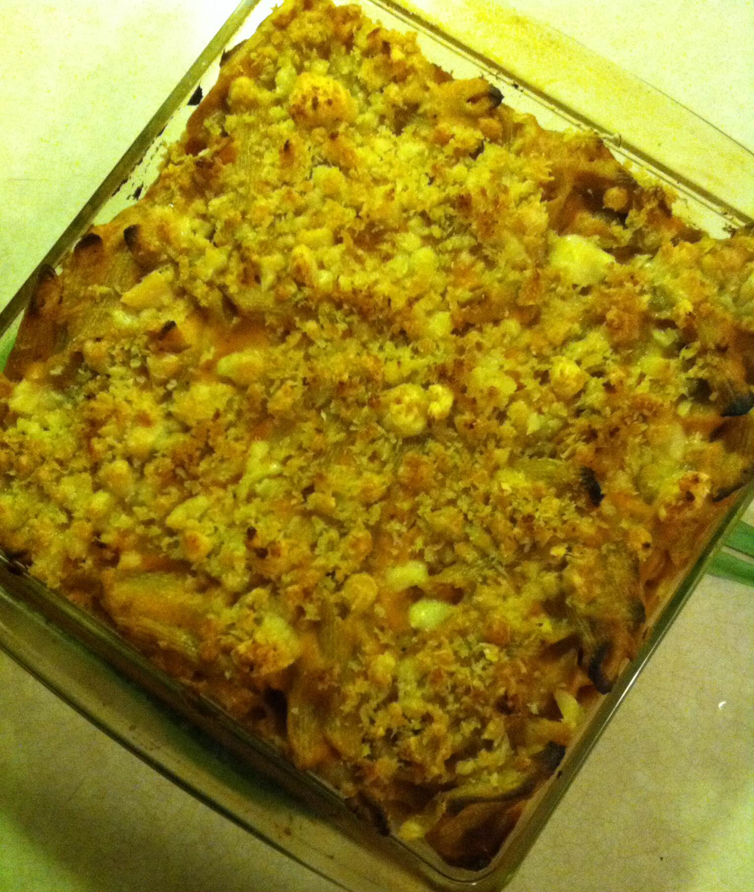 Healthier Pumpkin Mac And Beer And Cheese