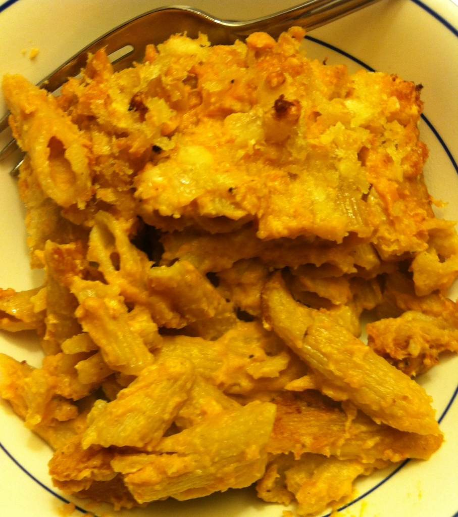 Healthier Pumpkin Mac and Beer and Cheese | xtinaluvspink.wordpress.com