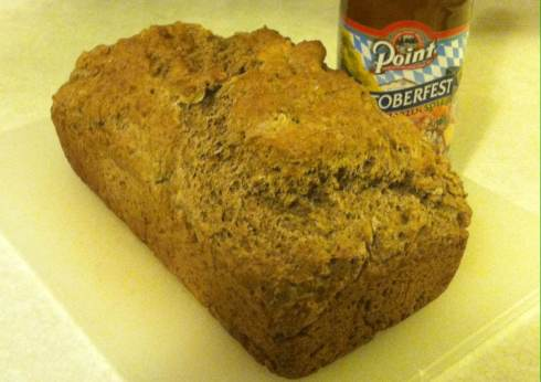 Beer Flax Bread | xtinaluvspink.wordpress.com