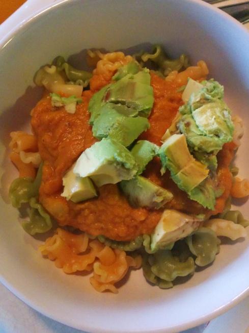 Vegan Beer Pumpkin Pasta Sauce | xtinaluvspink.wordpress.com