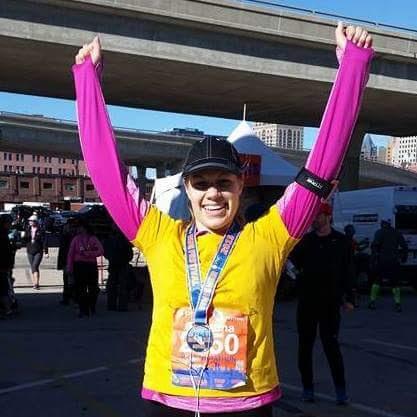 Pumpkin Pie Smoothie + Half Marathon Recap!   xtinaluvspink.wordpress.com