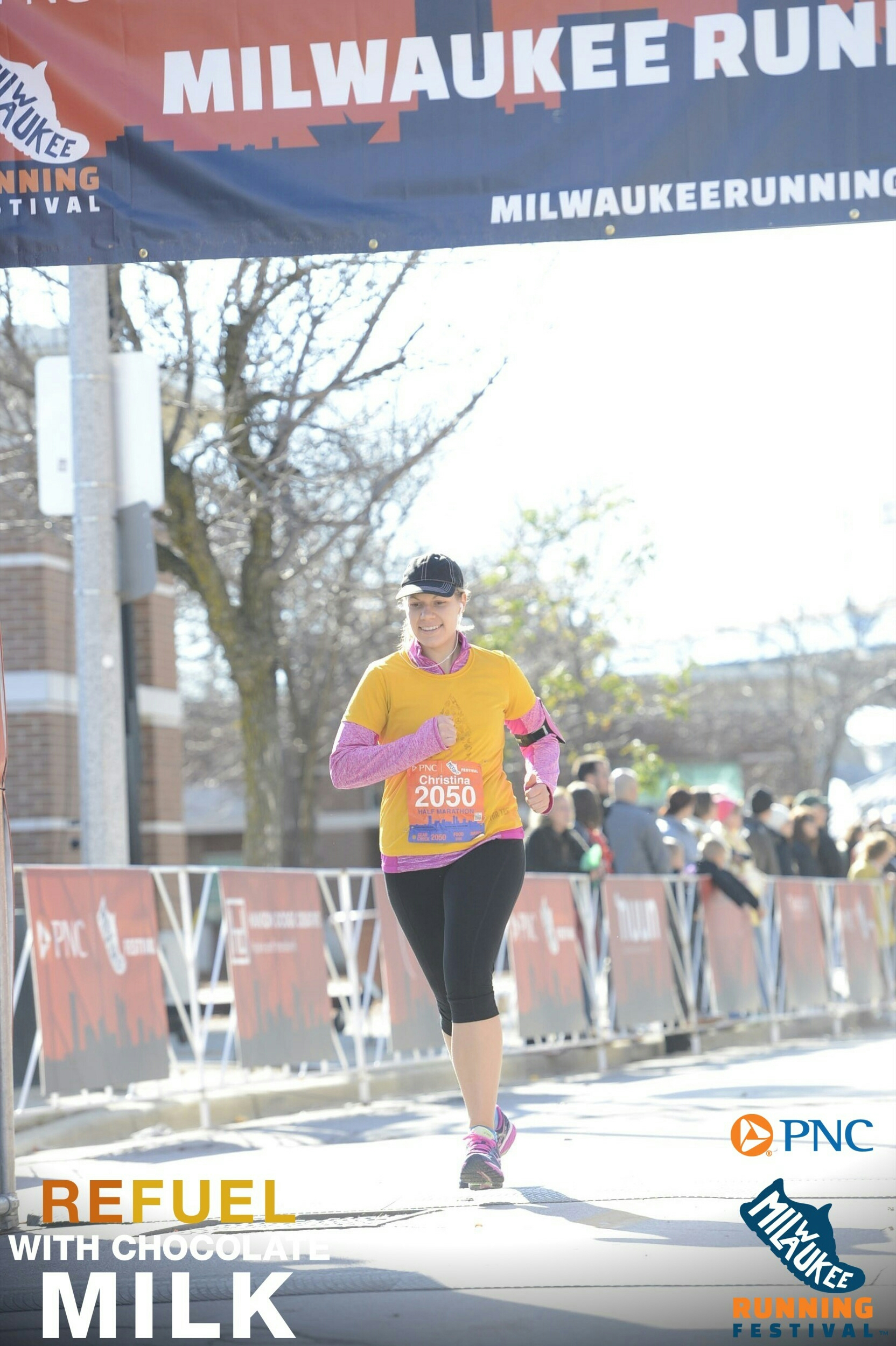 Pumpkin Pie Smoothie + Half Marathon Recap! | xtinaluvspink.wordpress.com