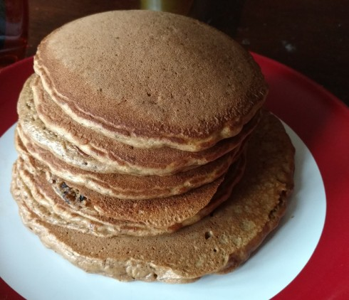 Spent Grain Pancakes | xtinaluvspink.wordpress.com
