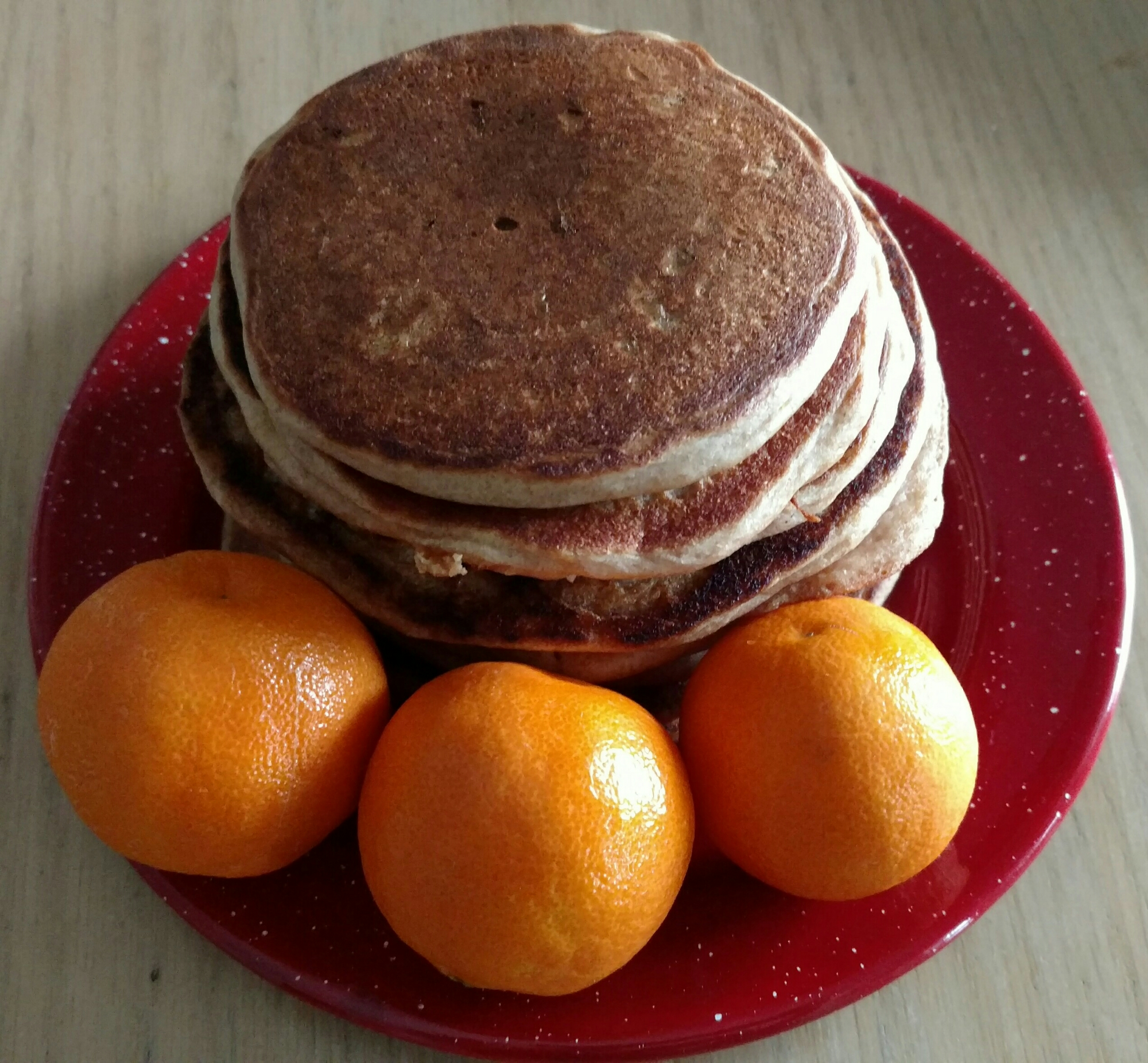 Whole Wheat Clementine Pancakes | xtinaluvspink.wordpress.com