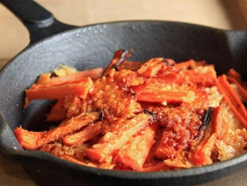 Raspberry Parmesan Roasted Carrots | xtinaluvspink.wordpress.com