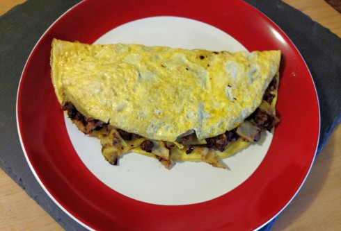 Vegetarian Cabbage Roll Omelet | xtinaluvspink.wordpress.com