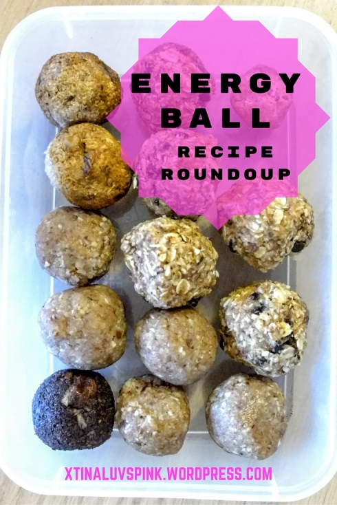 Energy Ball Recipe Roundup | xtinaluvspink.wordpress.com
