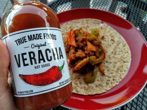 Spicy Vegan Tempeh Fajitas | xtinaluvspink.wordpress.com