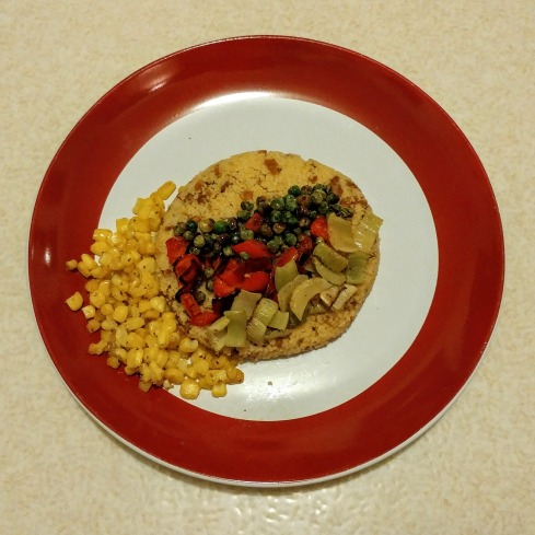 Vegetarian Cheeseburger Couscous with Roasted Vegetables, and Bourbon Trail Shenanigans   xtinaluvspink.wordpress.com