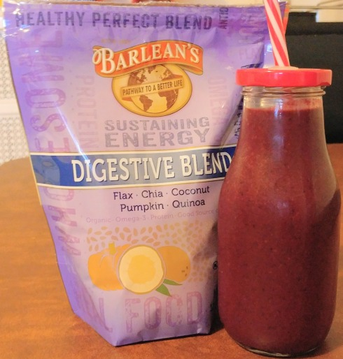 Peanut Butter and Jelly Beet Smoothie | xtinaluvspink.wordpress.com