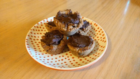 Mexican Chocolate Chip Cookie Cups | xtinaluvspink.wordpress.com