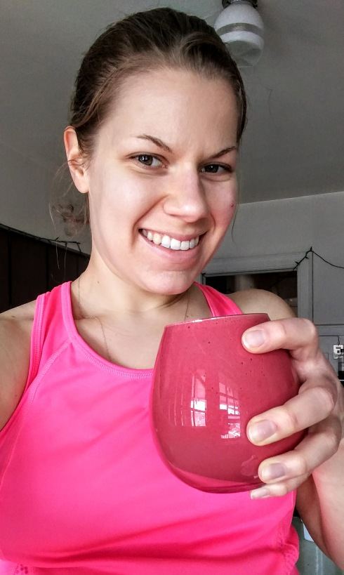 Creamsicle Beet Juice Protein Smoothie | xtinaluvspink.wordpress.com