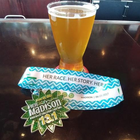 Her Madison Half Marathon Race Recap   xtinaluvspink.wordpress.com