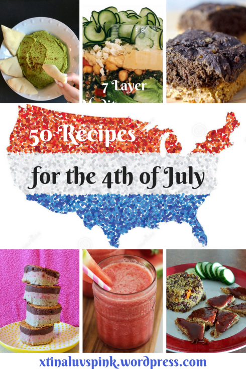 4th of July Recipe Roundup | xtinaluvspink.wordpress.com