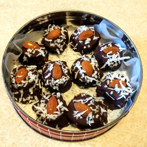Chocolate-Covered Probiotic Protein Bites | xtinaluvspink.wordpress.com