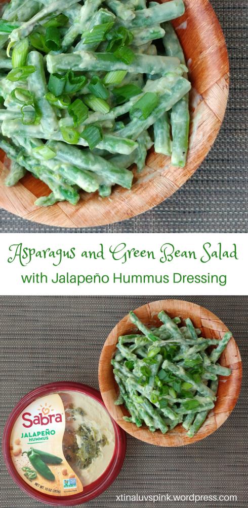 Asparagus and Green Bean Salad