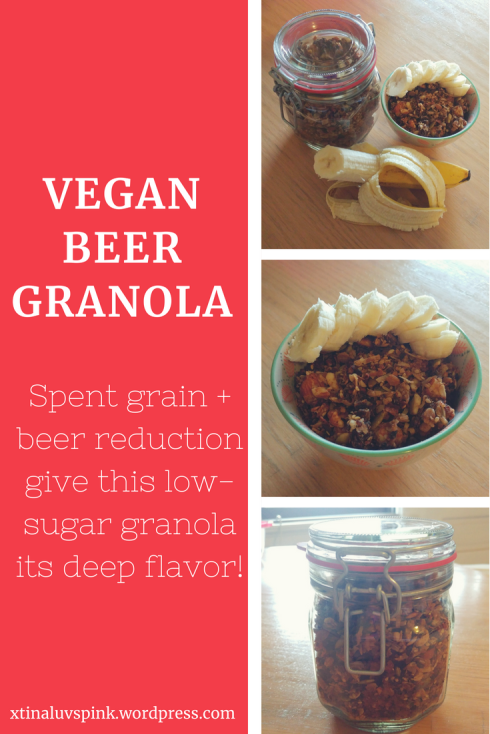 Vegan Beer Granola | xtinaluvspink.wordpress.com